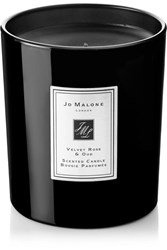 Jo Malone London Velvet Rose And Oud Scented Home Candle Colorless