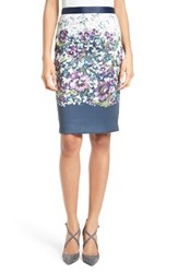 Ted Baker Women's London Carpi Floral Print Pencil Skirt