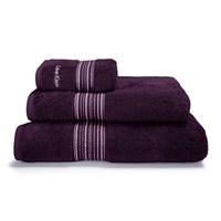 Calvin Klein Riviera Towel Plum Purple
