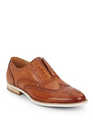 Steve Madden Romah Leather Oxfords Tan Leather