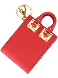 Sophie Hulme 'Albion' Keyring Red