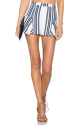 Lovers Friends Oasis Skort Navy