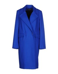 Marco Bologna Coats And Jackets Coats Women Bright Blue