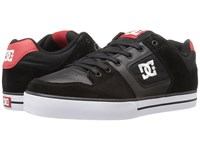 Dc Pure Black Athletic Red 2 Men's Skate Shoes