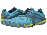 Vibram Fivefingers V Run Blue Yellow Men's Shoes