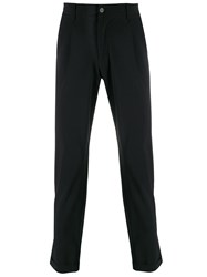 Hydrogen Cropped Tailored Trousers Black