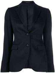 Tagliatore Tailored Classic Blazer Blue
