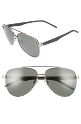 Polaroid Men's Eyewear 61Mm Polarized Aviator Sunglasses