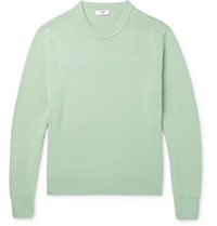 Cmmn Swdn Colby Cotton Sweater Green