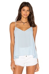 Eight Sixty V Neck Tank Blue