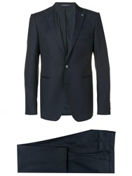 Tagliatore Two Piece Suit Blue