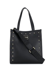 Versace Jeans Couture Studded Tote Bag Black