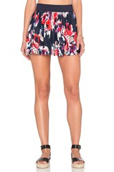 Kate Spade Pleated Skirt Cover Up Navy