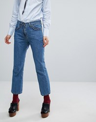 Paul And Joe Sister Frill Detail Jeans Blue