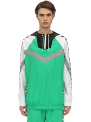 Hummel Christian Woven Sweatshirt Green
