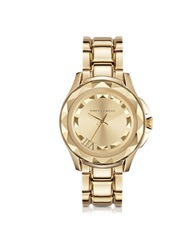 Karl Lagerfeld Karl 7 43.5Mm Gold Ip Stainless Steel Unisex Watch