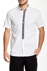 Ecko Unlimited Granite Tie Shirt White