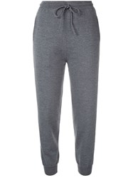 Ports 1961 Cropped Track Pants Grey