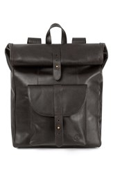 Men's Timberland 'Calexico' Leather Backpack Black