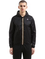 K Way Jacques Waterproof Nylon Jacket Black