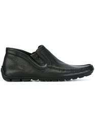 Baldinini Square Toe Loafers Black