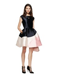 Kate Spade Colorblock Fit And Flare Dress