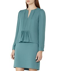 Reiss Daze Chain Detail Dress Emerald Sea