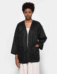 Objects Without Meaning Kimono Jacket Black