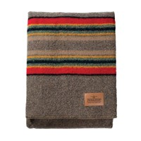 Pendleton Twin Camp Blanket With Carrier Mineral Umber