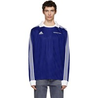 Gosha Rubchinskiy Blue Adidas Originals Edition Football Polo