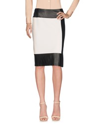 Ralph Lauren Collection Knee Length Skirts Ivory