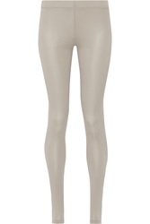 Mm6 Maison Margiela Washed Jersey Leggings