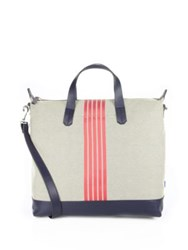 Uri Minkoff Colorblock Striped Tote Birdseye