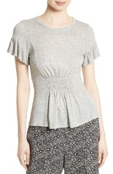 Rebecca Taylor Women's Ruched Jersey Top