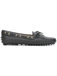 Car Shoe Classic Loafers Black