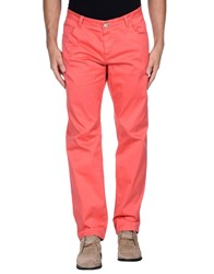 Yan Simmon Trousers Casual Trousers Men Coral