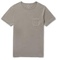 Outerknown Sojourn Slim Fit Organic Pima Cotton T Shirt Mushroom