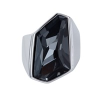 Aurora Geometric Ring Metallic