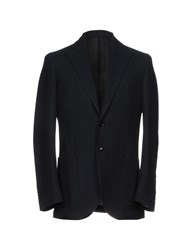 Lubiam Suits And Jackets Blazers Dark Blue