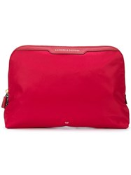 Anya Hindmarch Lotions And Potions Bag Red