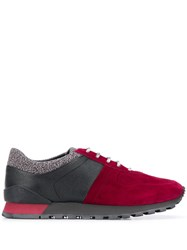 Kiton Panelled Low Top Sneakers 60