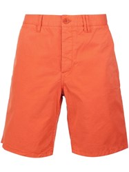 Norse Projects Bermuda Shorts Yellow And Orange