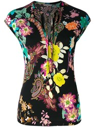 Etro Floral And Paisley Blouse Women Viscose 48