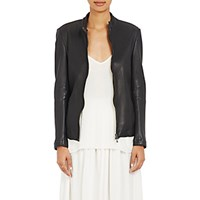 Atm Anthony Thomas Melillo Women's Leather Moto Jacket Black