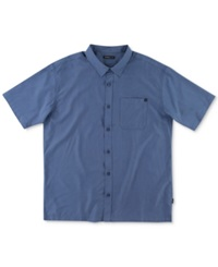 O'neill East Cape Checked Short Sleeve Shirt Dark Navy