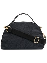 Borbonese Top Handle Tote Black