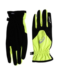 Asics Gloves Acid Green