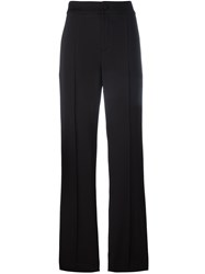 Lanvin Tailored Palazzo Pants Black