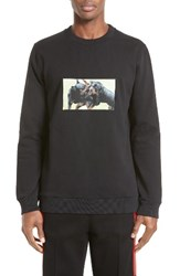 Givenchy Men's Rottweilers Graphic Sweatshirt