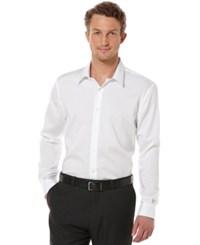 Perry Ellis Big And Tall Long Sleeve Non Iron Shirt Bright White